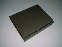 画像1: BOOK BOX カーキ色の撥水布タイプ  (文庫用)